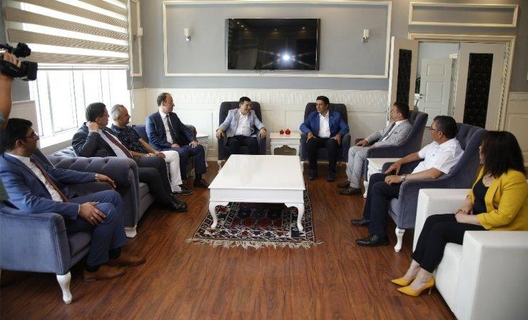 Başkan Genç,ABB'yi ağırladı