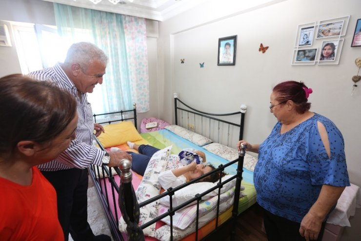 Başkan Atay'dan Katre'ye ziyaret