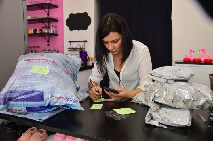 KOSGEB'ten destek aldı, yurt dışına sipariş yetiştiremiyor