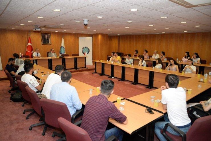 Gürcistanlı tıp öğrencileri staj için Bursa Uludağ Üniversitesi'nde