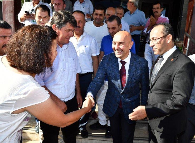Tunç Soyer, Başkan Oğuz ve Urla'daki muhtarlar ile buluştu