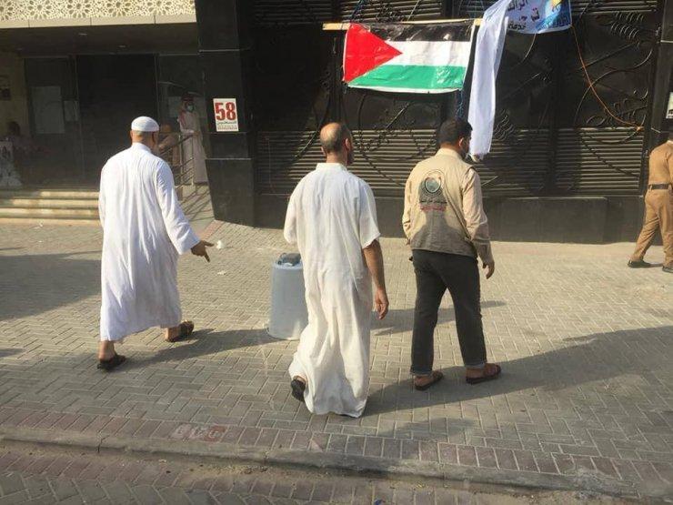 Mekke'de Filistinli hacı adaylarının kaldığı otelde yangın çıktı