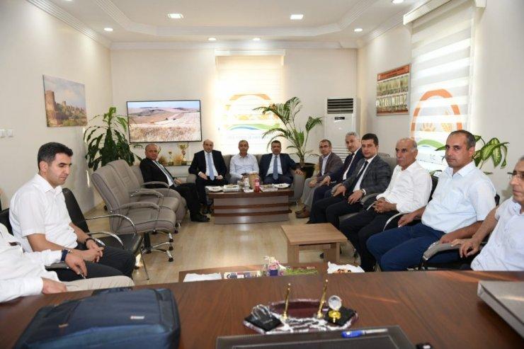 Meteoroloji Genel Müdürü Coşkun'dan Tarım ve Orman İl Müdürü Atalar'a ziyaret