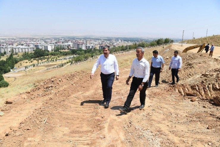 Muş'ta şehir mezarlığı genişletiliyor