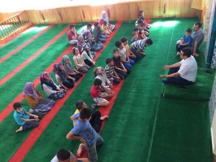 Müftü Hasankahyaoğlu'ndan Yaz Kur'an Kursları'na ziyaret