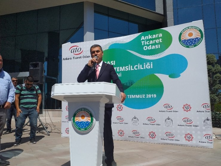 Ankara Ticaret Odası Gölbaşı temsilciliği açıldı