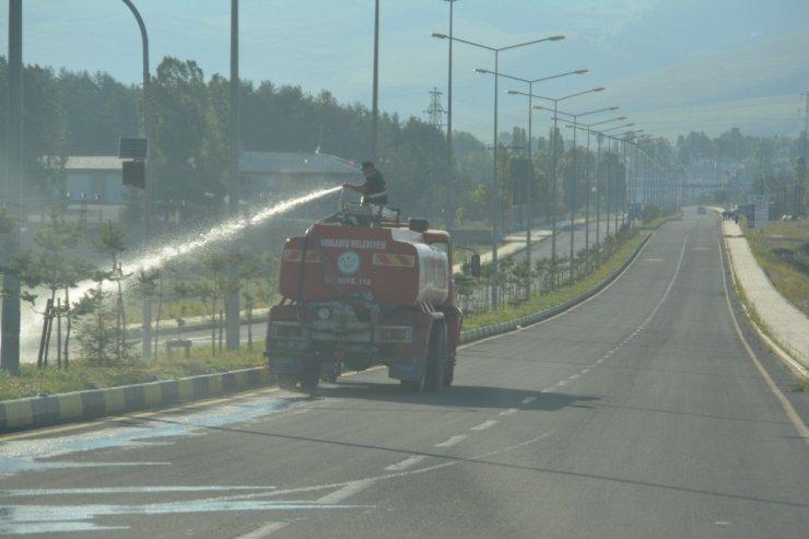 Sarıkamış Belediyesinden çevre temizliği
