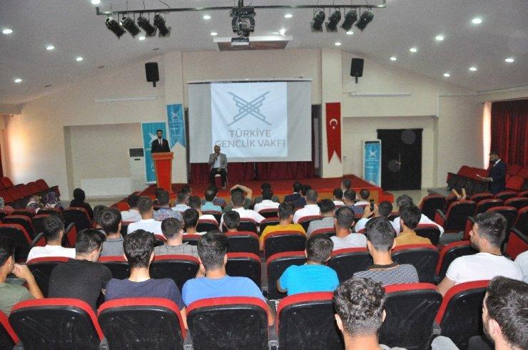 TÜGVA Şırnak temsilciliği 2'nci Olağan Genel Kurulunu yaptı