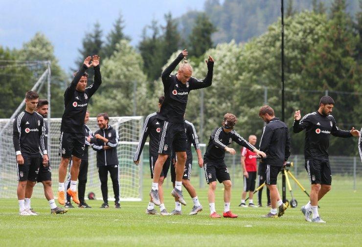 Beşiktaş'ta kamp çalışmaları sürüyor