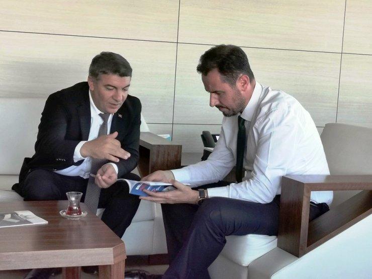 Başkan Şayir, Ankara'da çalmadık kapı bırakmadı
