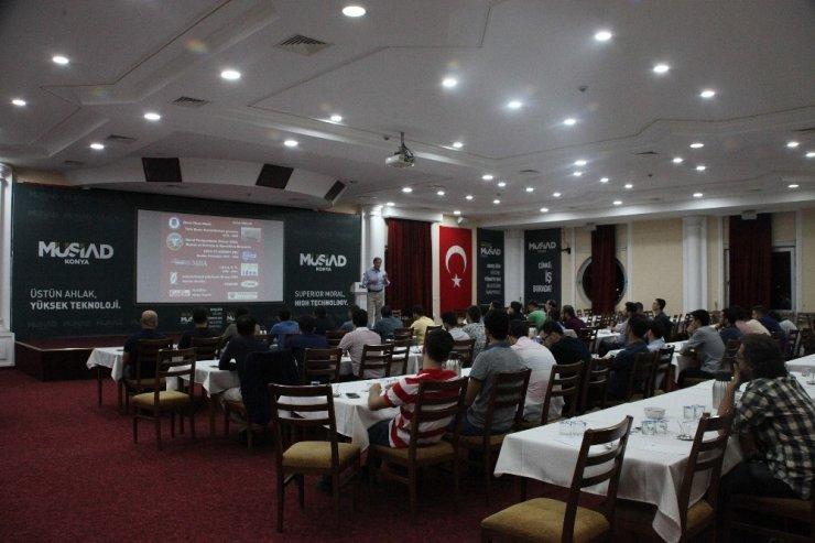"""MÜSİAD üyelerine """"Stratejik Yönetim"""" konferansı"""