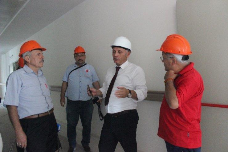 Giresun'da Eğitim ve Araştırma Hastanesinde sona yaklaşıldı