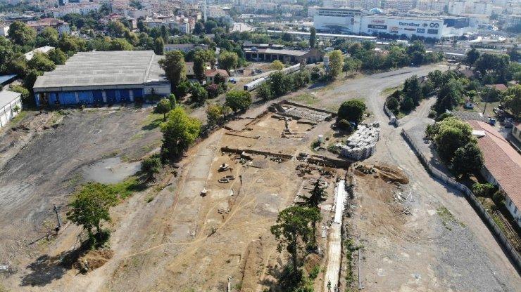 Haydarpaşa'daki kazı alanında bu kez de kilise kalıntıları bulundu