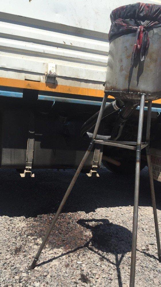 Kayseri'de kaçak akaryakıt operasyonu