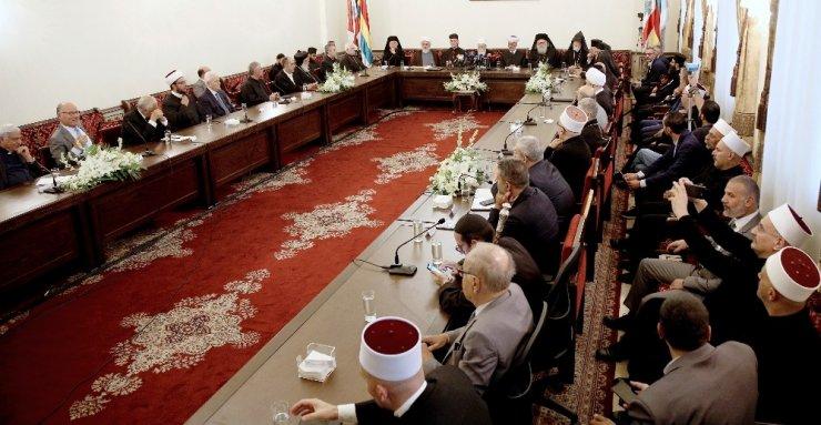 Lübnanlı din adamları siyasilere ülke için birlik çağrısı yaptı