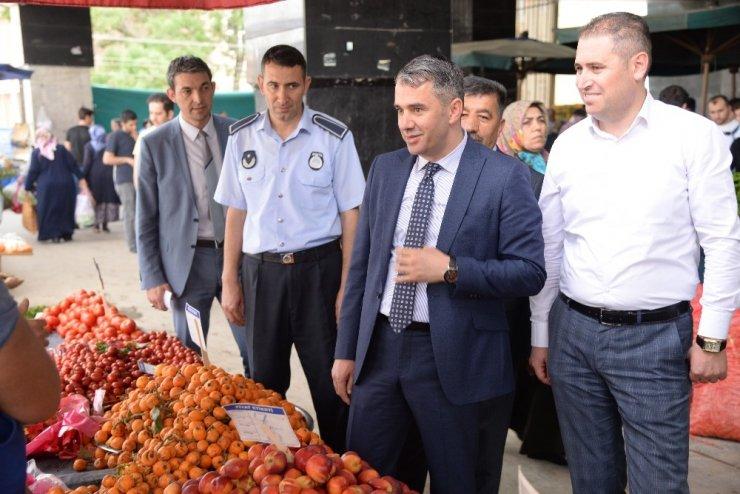 Pursaklar'da aracısız ve komisyonsuz köylü pazarı