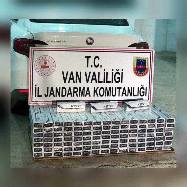 Van'da 2 bin 130 paket kaçak sigara ele geçirildi