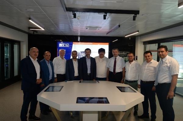 Konya ve Kayseri iş dünyası BTSO'nun marka projelerini inceledi