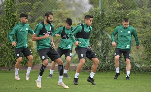Konyaspor'da Galatasaray maçı hazırlıkları sürüyor