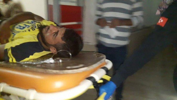 Mardin'de motosiklet ile bisiklet çarpıştı: 2 yaralı