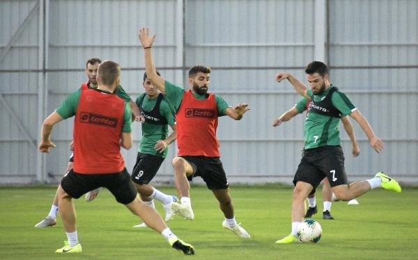 Konyaspor, Denizlispor maçının hazırlıklarına yeniden başladı