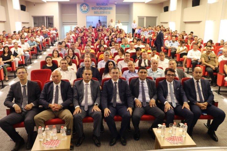 Personele 'E-Belediye Bilgi Sistemi' projesi eğitimi verildi