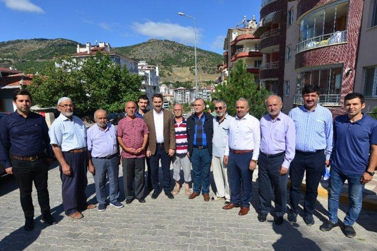 Başkan Eroğlu mahalle sakinleriyle buluştu