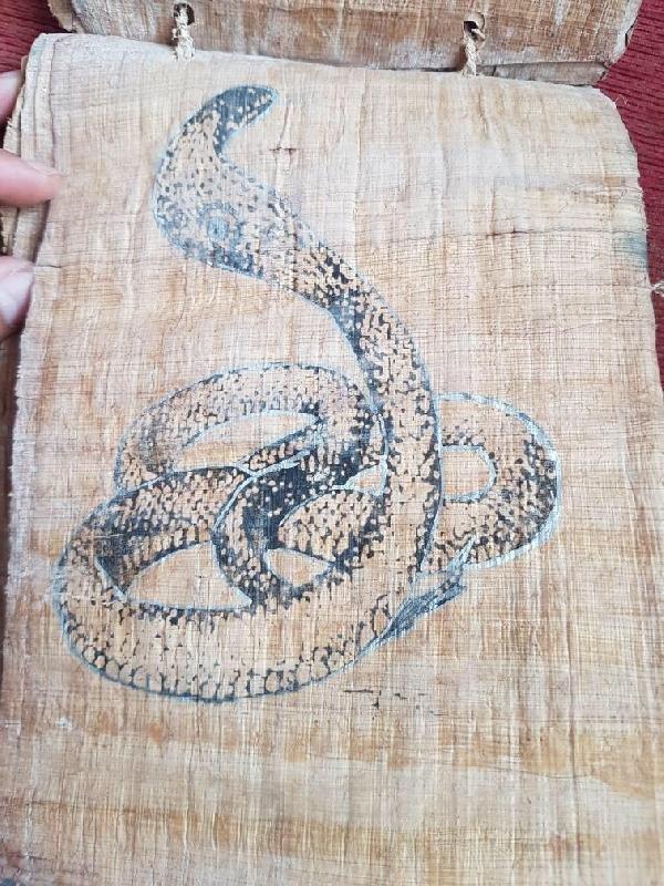 Malatya'da Mısır dönemine ait el yazması ele geçirildi