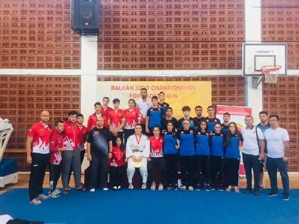 Judo Ümitler Milli Takımı Balkan Şampiyonu oldu