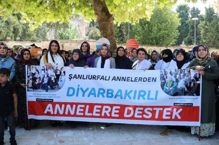 Şanlıurfalı kadınlardan Diyarbakır'daki annelere destek