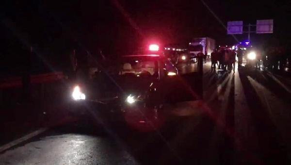 Konya'da otomobil motosiklete çarptı: 2 ölü