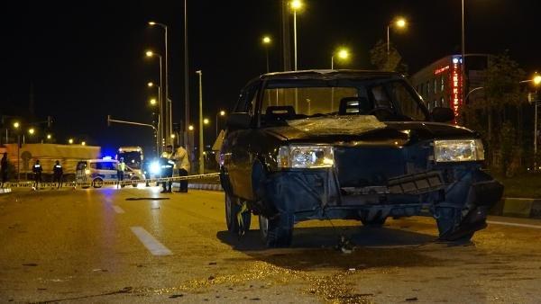 Yaya geçidinde otomobilin çarptığı Iraklı öğrenci ağır yaralandı