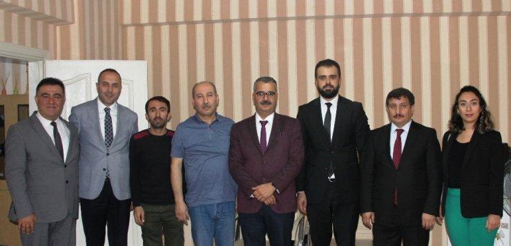 AK Parti'den İHA'ya ziyaret