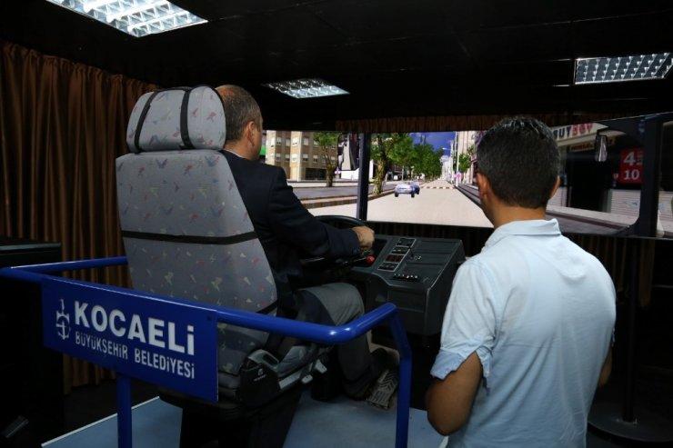 Kocaeli'de toplu taşıma sürücülerine sanal eğitim