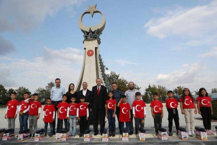 Cumhurbaşkanı Erdoğan, Samsunlu öğrencilerle bir araya geldi