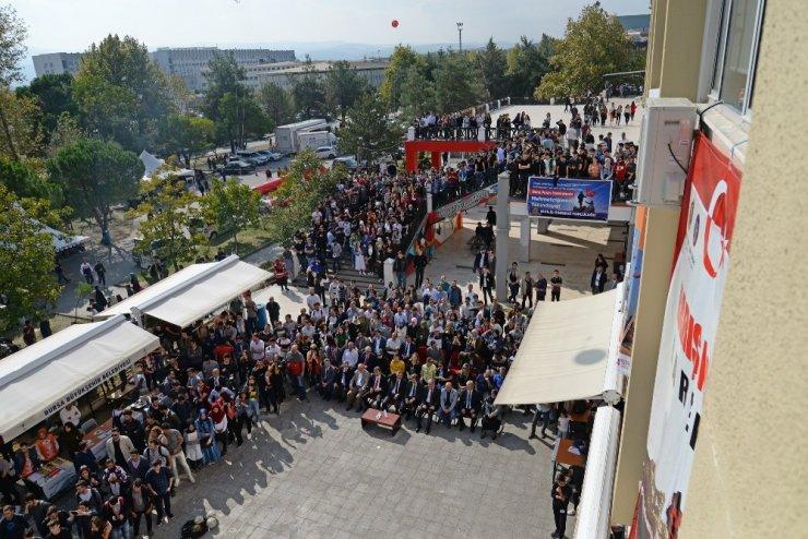 Bursa Uludağ Üniversitesi'nden Mehmetçiğe selam