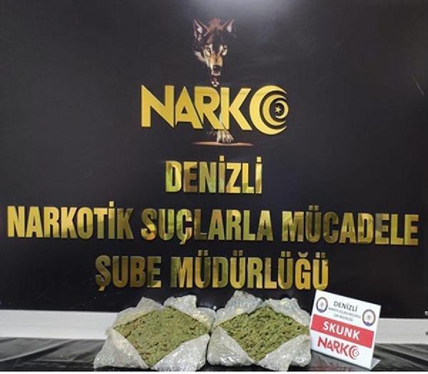 Denizli'de uyuşturucu satışına 21 tutuklama