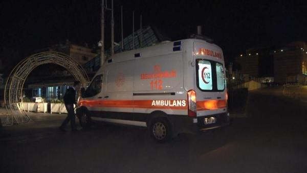 Tadilat yaparken 4 metreden düşen işçi yaralandı
