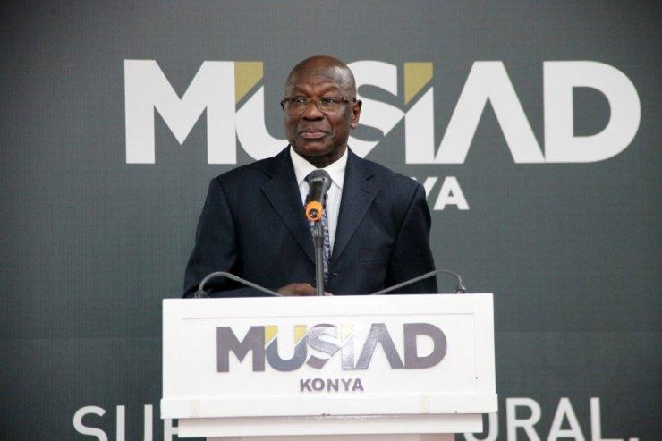 Benin Cumhuriyeti büyükelçisi MÜSİAD Konya Şubesi'nin konuğu oldu