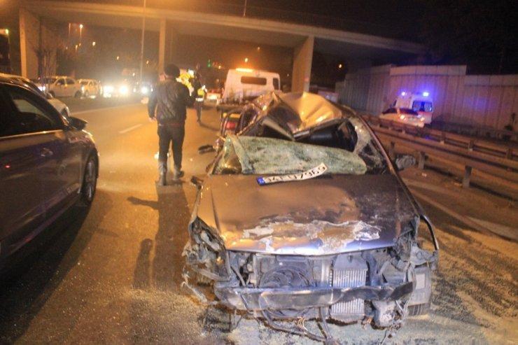 Vatan Caddesi'nde alkollü sürücü dehşeti: 2'si ağır, 3 yaralı