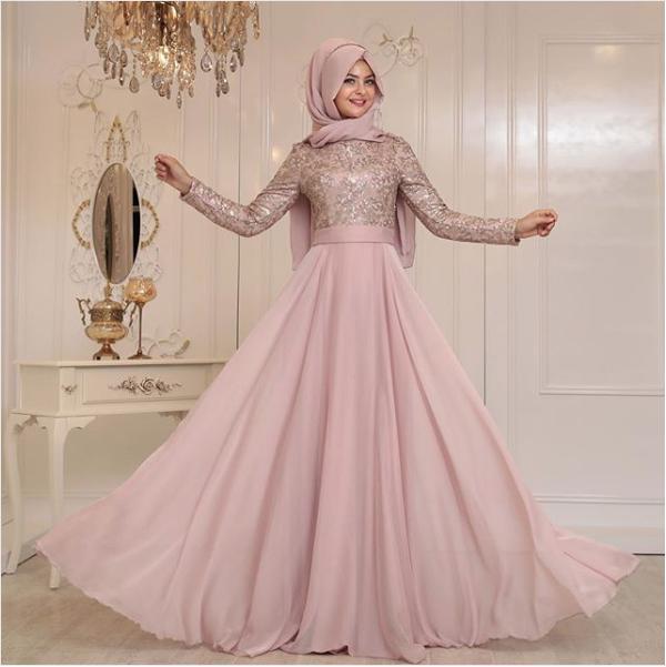20d19df3d48ef 2018 tesettür abiye elbiseleri birbirinden şık ve sade modelleri  muhafazakar giyimi tercih eden tesettürlü bayanların beğenisine sunulmuştur.