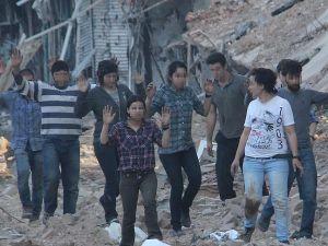 Nusaybin'de 25 terörist böyle teslim oldu