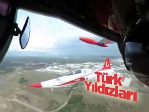 Türk Yıldızları'nın 'baş döndüren' görüntüleri